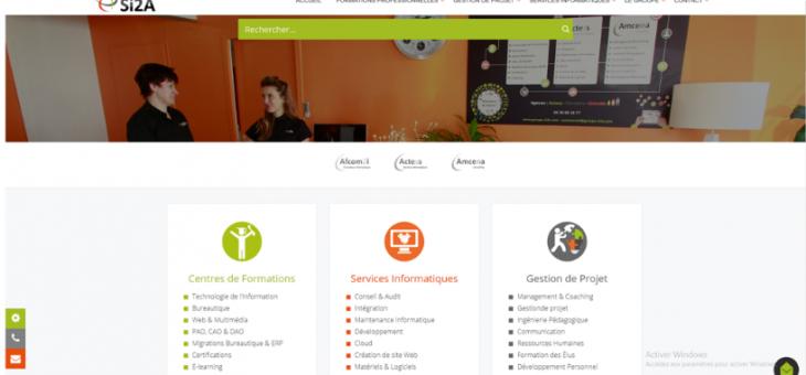 Le lancement du nouveau site internet pour le Groupe Si2A !