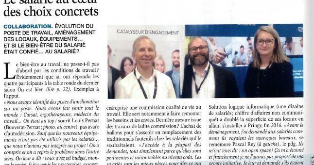 Groupe Si2A  s'exprime dans l'Eco Savoie Mont Blanc